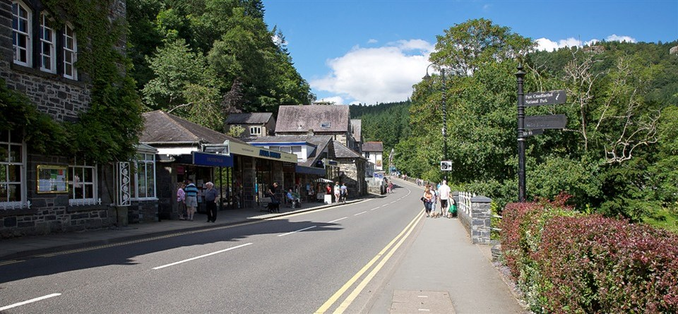 Shopping in Betws-y-Coed