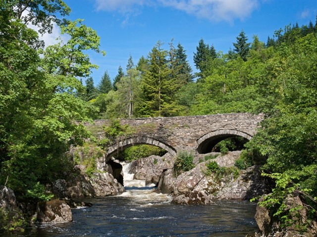 The Pont-y-Pair bridge