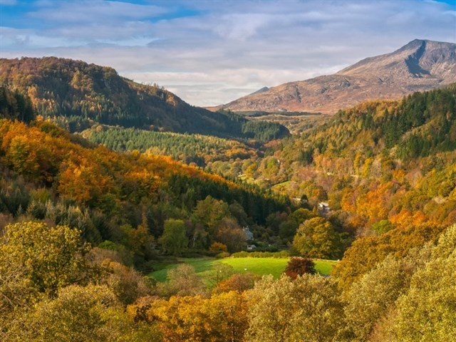 Siabod from Betws-y-Coed