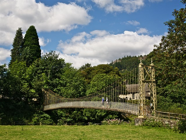 The Sappers Suspension Bridge of 1930