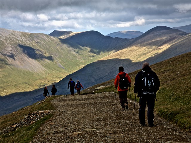 Walking in Snowdonia