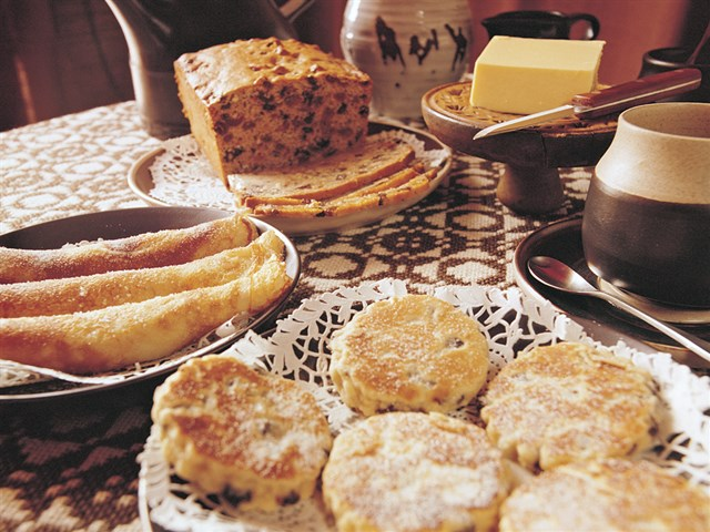 Welsh Cakes and Bara Brith